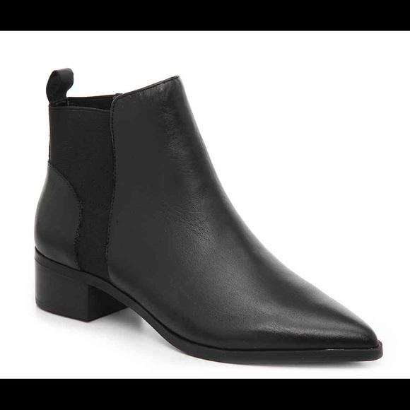 Crown Vintage Afessa Chelsea Boot Black